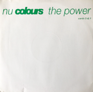 "Nu Colours - The Power (12"") (Promo) (VG-/VG-)"